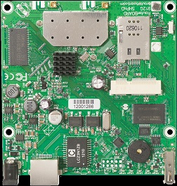 RouterBoard Mikrotik RB912UAG-5HPnD, 5 GHz 802.11a/n 2x2 MIMO,2x MMCX, Level4, 1x GB LAN, 64 MB, USB port
