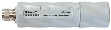 MikroTik Outdoor CPE Groove 52HPn, 2,4/5 GHz, 802.11a/b/g/n, Level 3, MIMO TDMA,