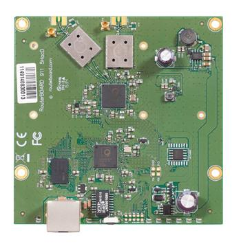 RouterBoard Mikrotik RB911-5HacD, 5 GHz 802.11ac, 2x MMCX, Level3, 64 MB