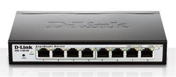 Switch D-Link 8-Port 10/100/1000 EasySmart Switch