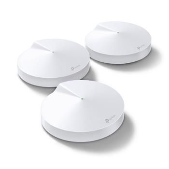 Wifi router TP-LINK Deco M5 indoor 2,4/5 GHz, AC1300 Mbps, Gigabit port, 3pack
